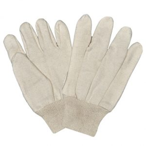 Jersey Gloves With Wrist