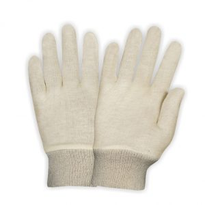 Interlock Gloves Knit Wrist