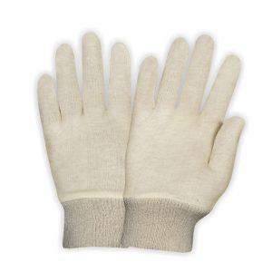 Interlock Gloves Knit Wrist